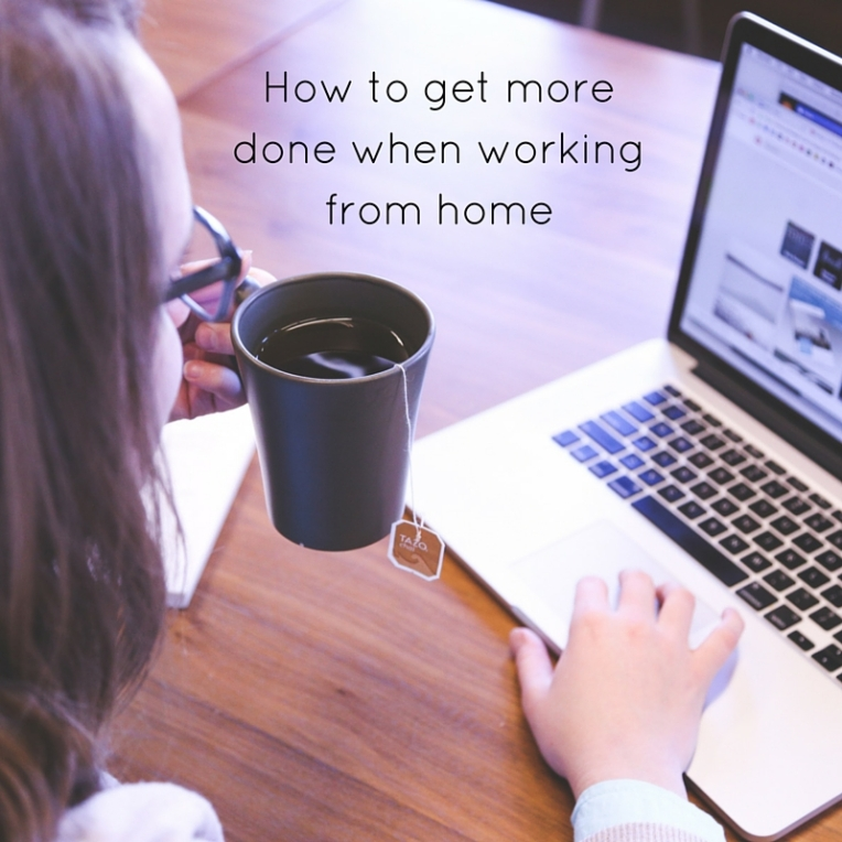 How to get more done when working from home
