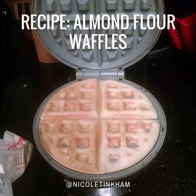 RECIPE_ Almond flour waffles