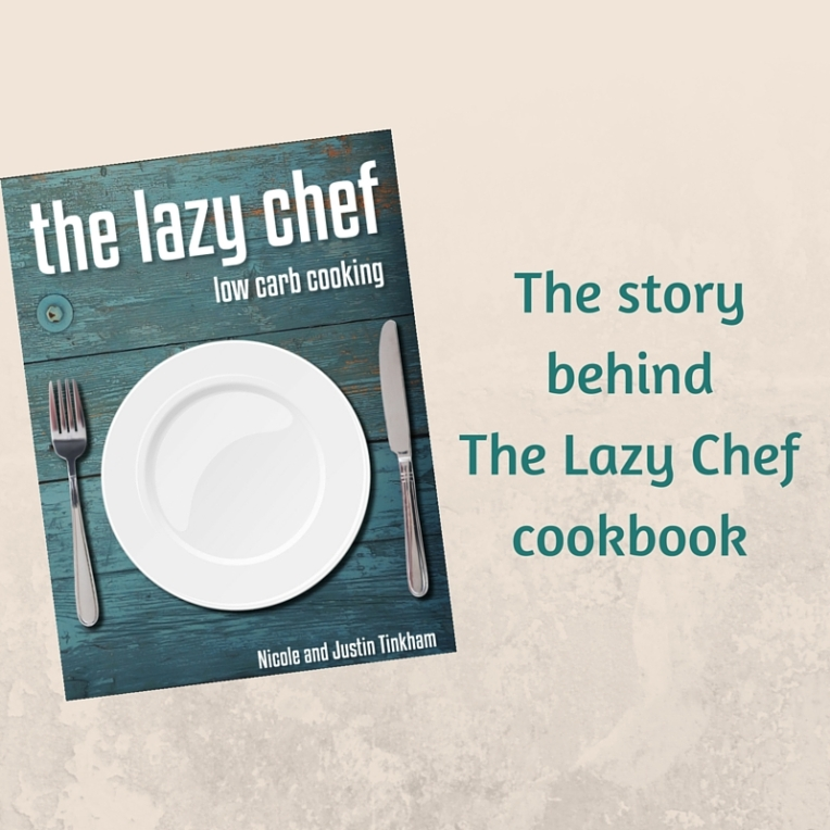 The story behind 'The Lazy Chef' cookbook