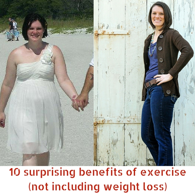 10 surprising benefits of exercise (not including weight loss)