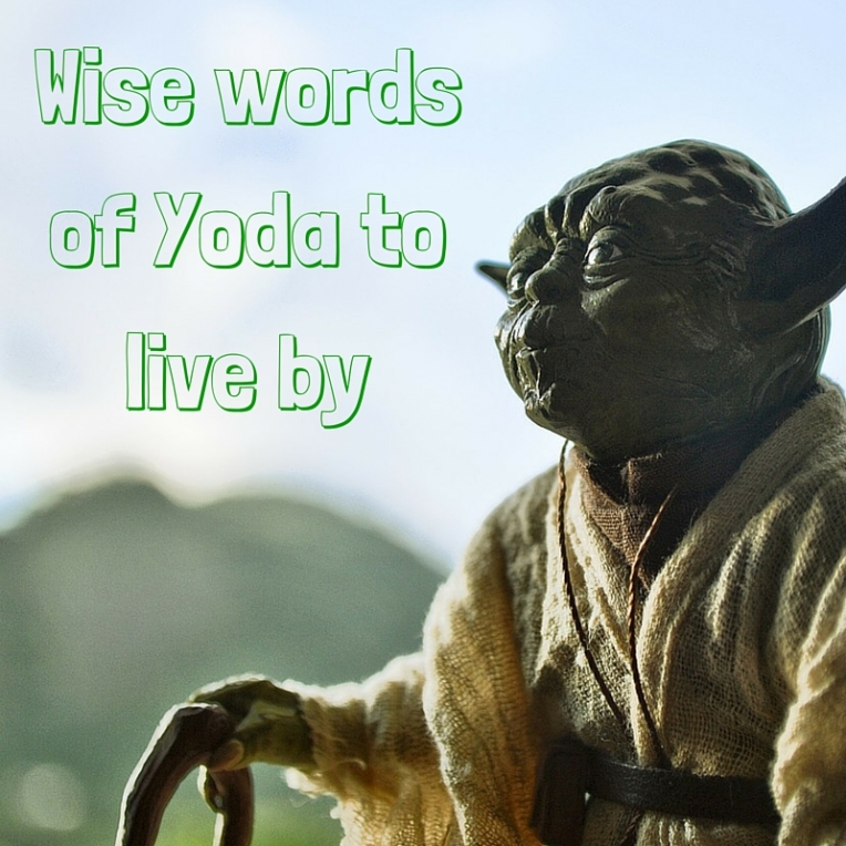 Wise words of Yoda to live by