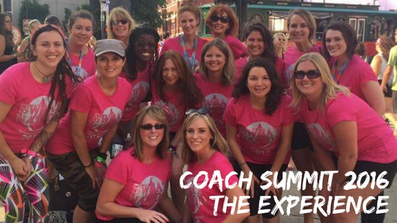 Coach Summit 2016- The EXPERIENCE